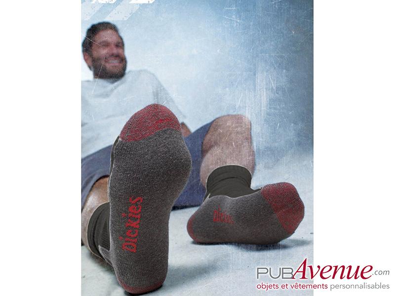 Chaussettes travail professionnelle personnalisables