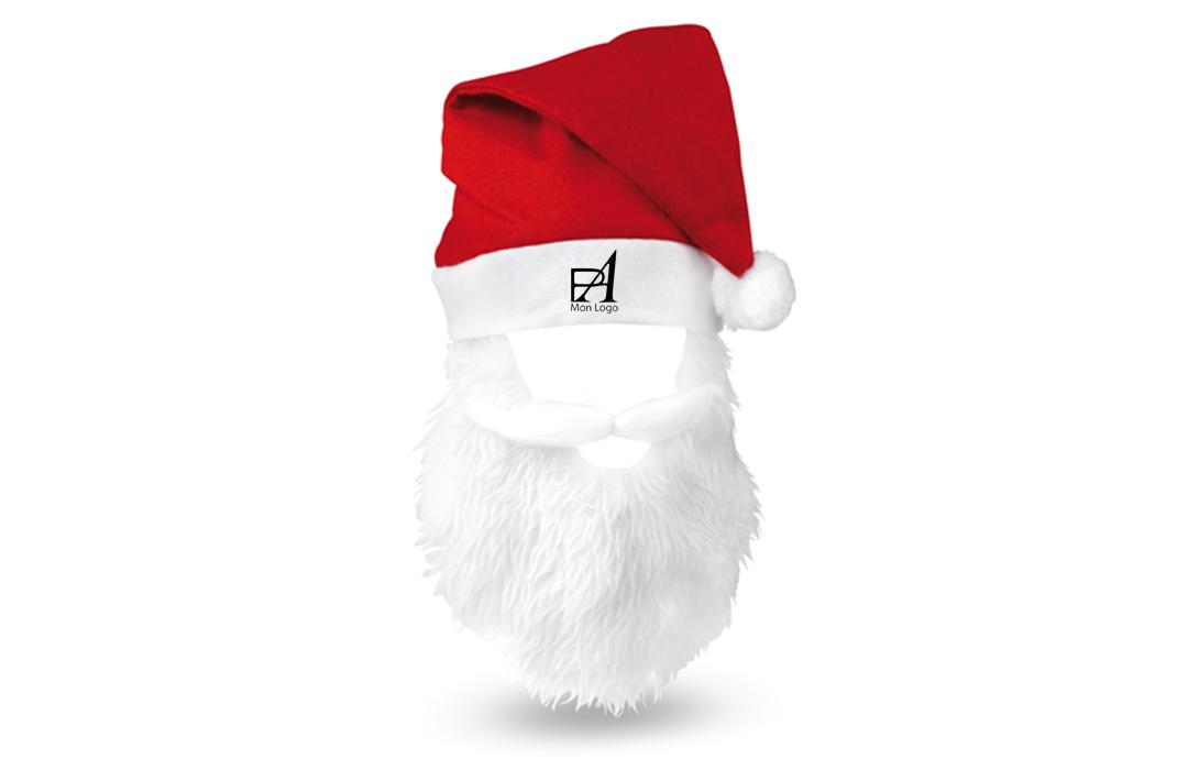 5354579d30e55 Bonnet père Noël personnalisé cadeau pour les fêtes