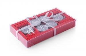 Bo te 8 bougies no l personnalis e cadeau publicitaire - Boite a cadeau pas cher ...