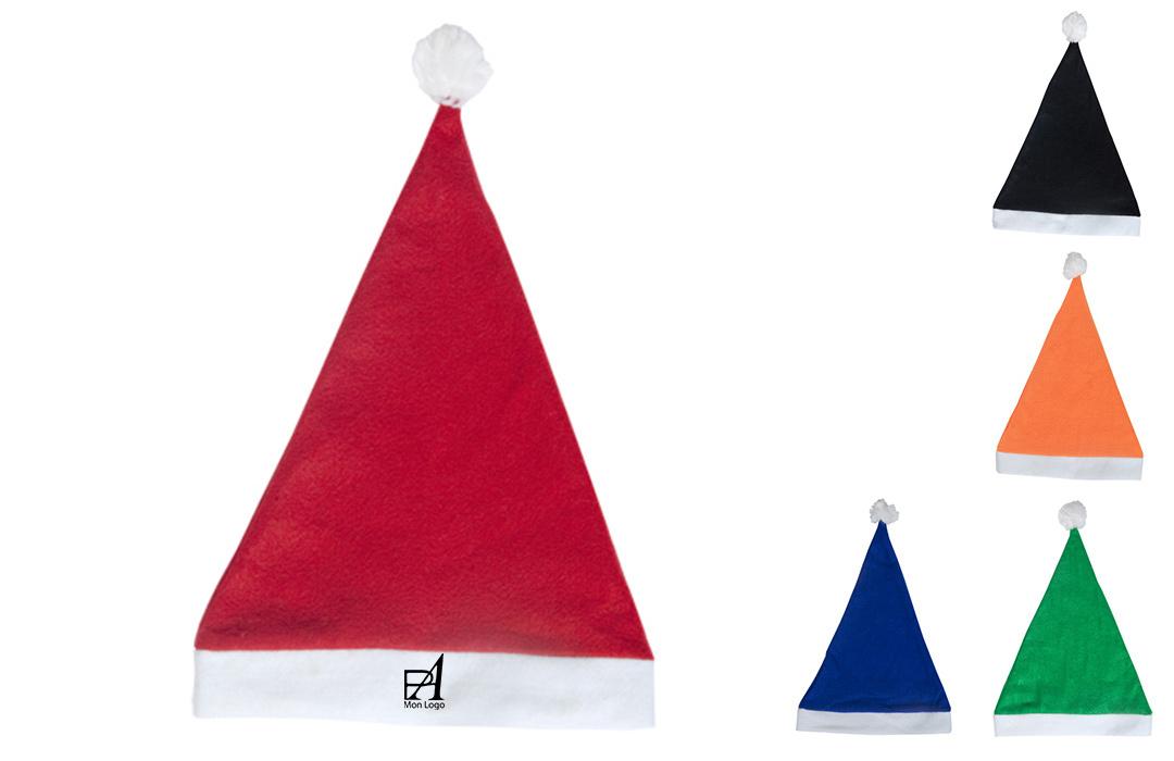 e342f8aee2f9e Bonnet de noël coloré personnalisé cadeau de fête
