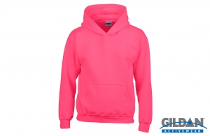 Sweat-shirt à capuche enfant Gildan 280 gr/m²