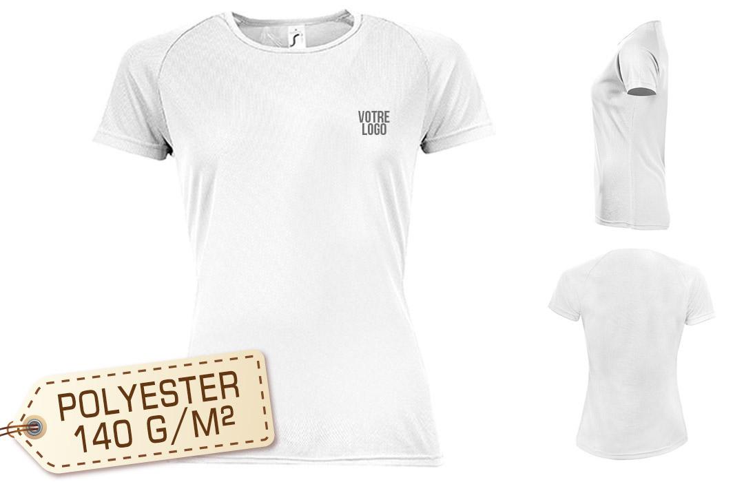 homme renommée mondiale dessins attrayants T-shirt respirant sport personnalisé pour femme