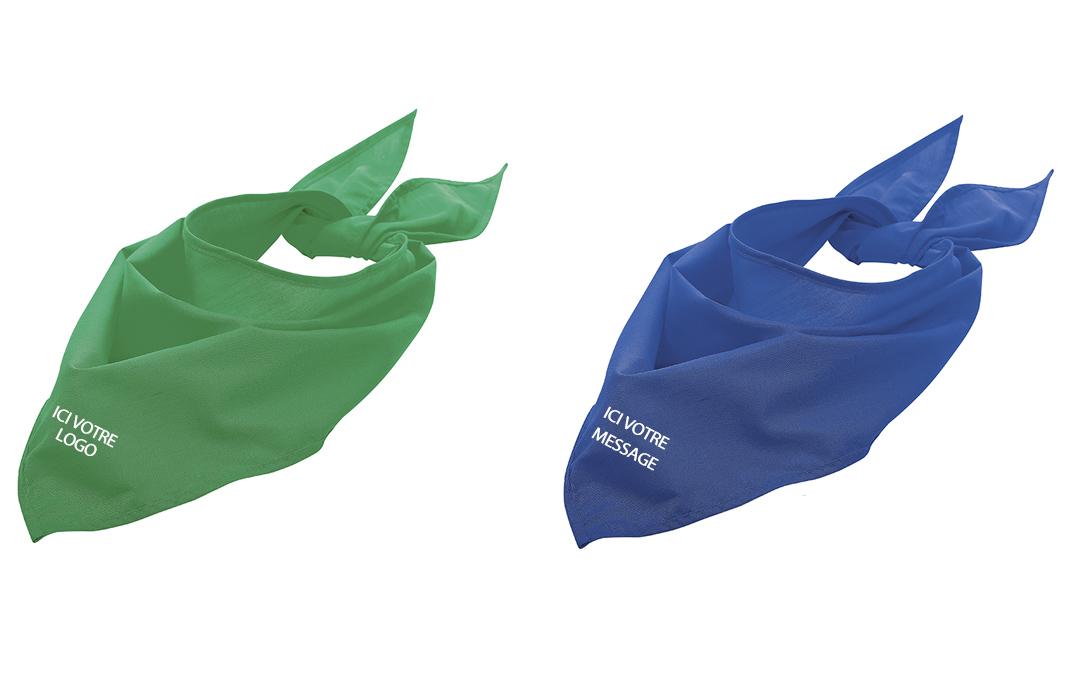 4c9986dd94c2 Bandana féria personnalisable flocage logo vente en gros pas cher