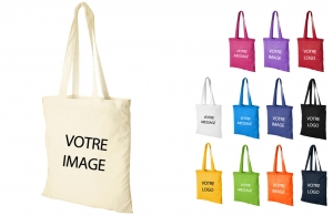 Sac shopping en coton à personnaliser