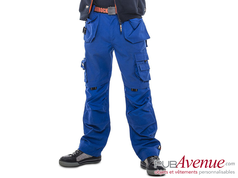 Pantalon travail multi-poches personnalisable