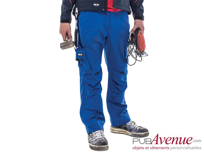 Pantalon travail multi-poches personnalisé