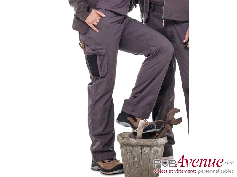 Pantalon travail professionnel femme personnalisable