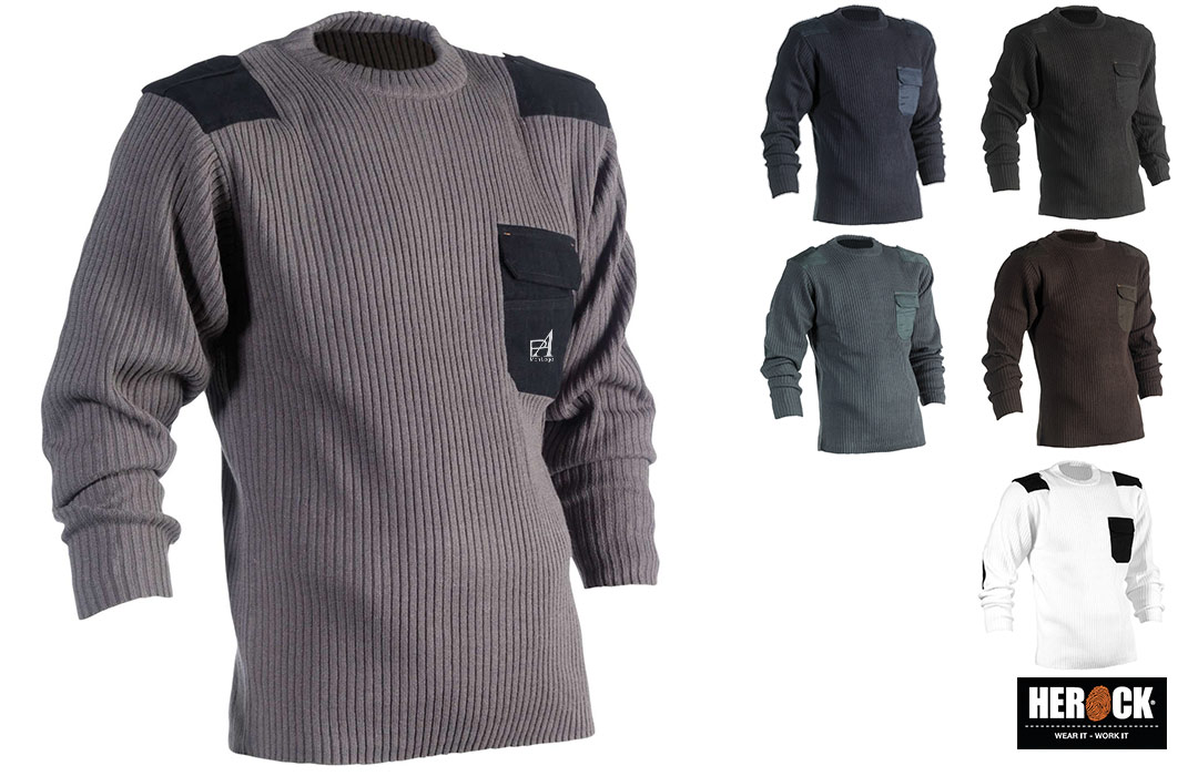 Pull-over professionnel pour homme Herock