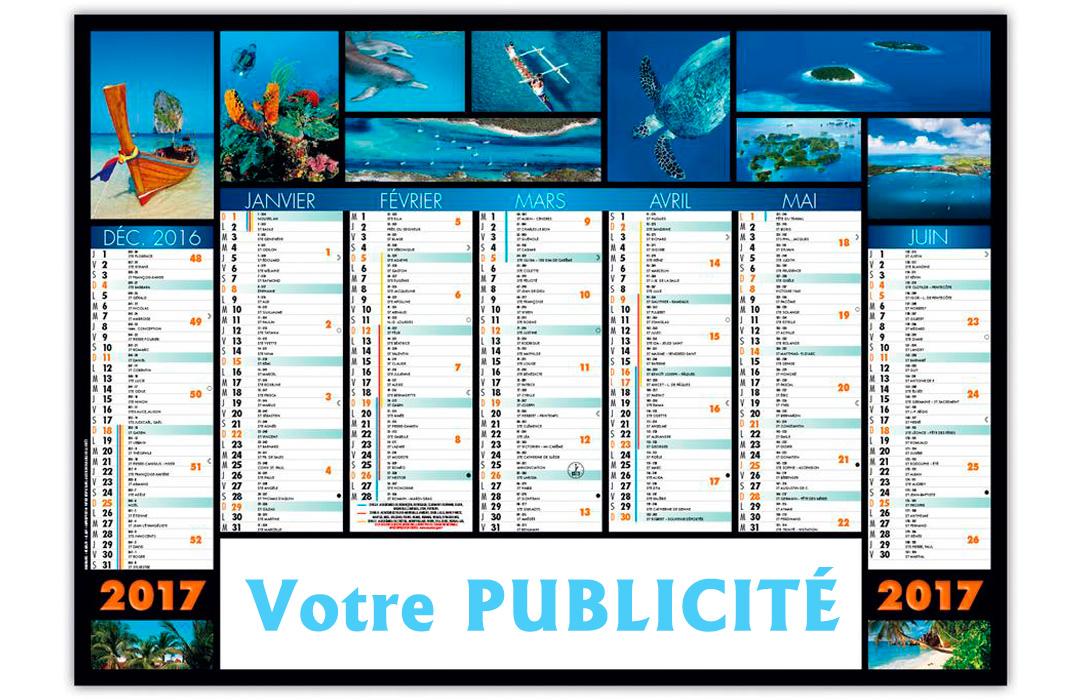 Calendrier Bancaire Cartonné Jeanne 57 X 41