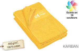 Grand drap de bain publicitaire serviette éponge personnalisable ...