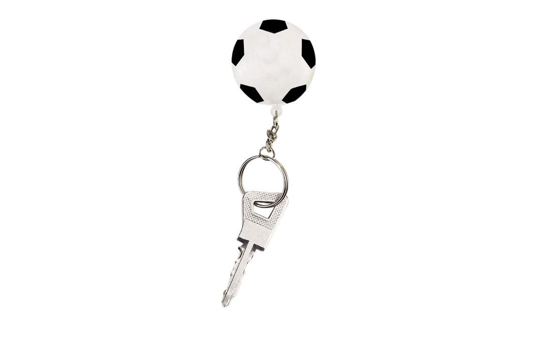 Porte-clés ballon de football