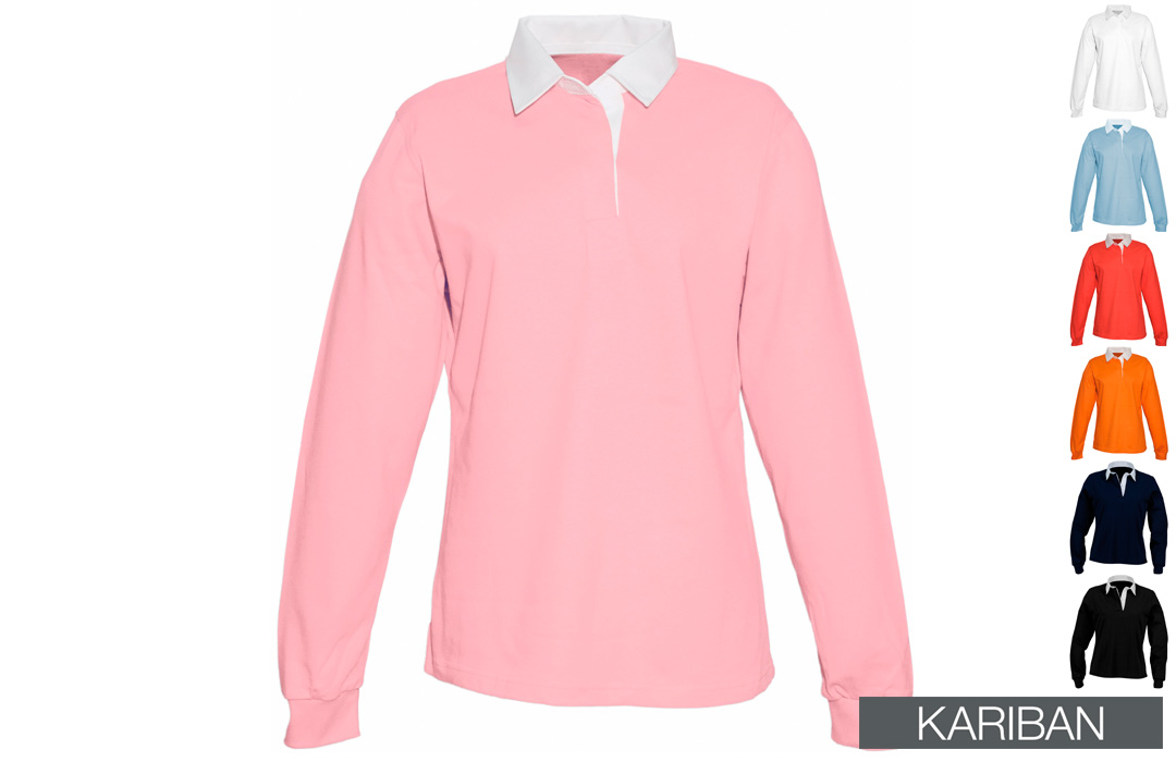 Polo rugby femme à personnaliser