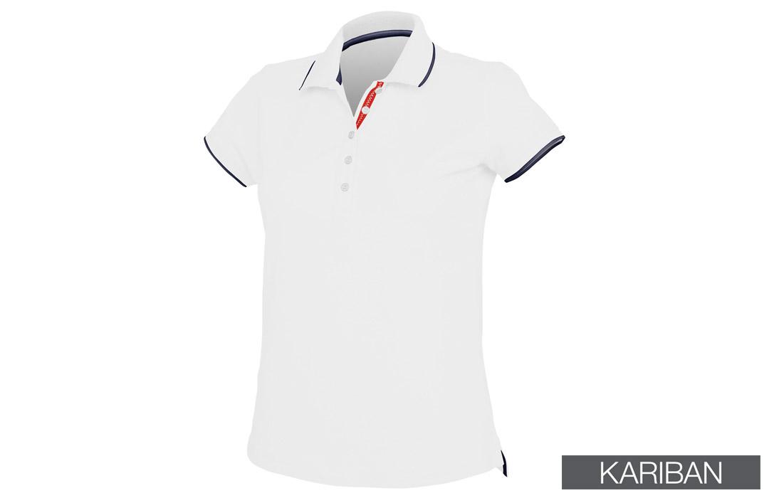 Logo Polo Personnalisé Bicolore Flocage Broderie Discount Publicitaire 4ARLj5