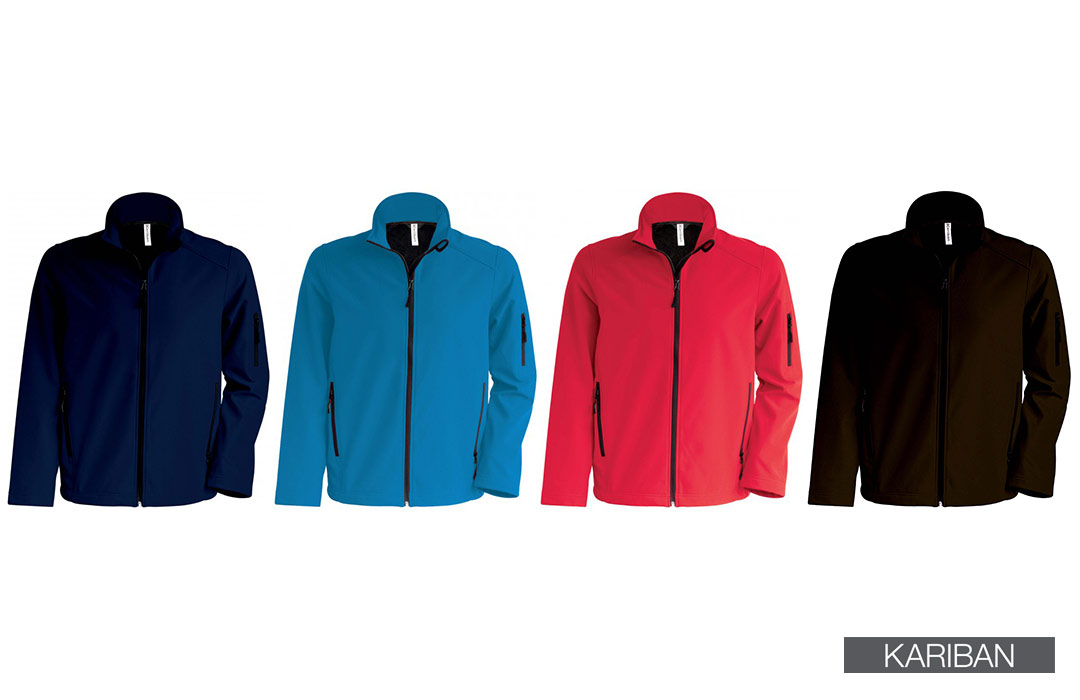Softshell homme 3 couches respirantes imperméables
