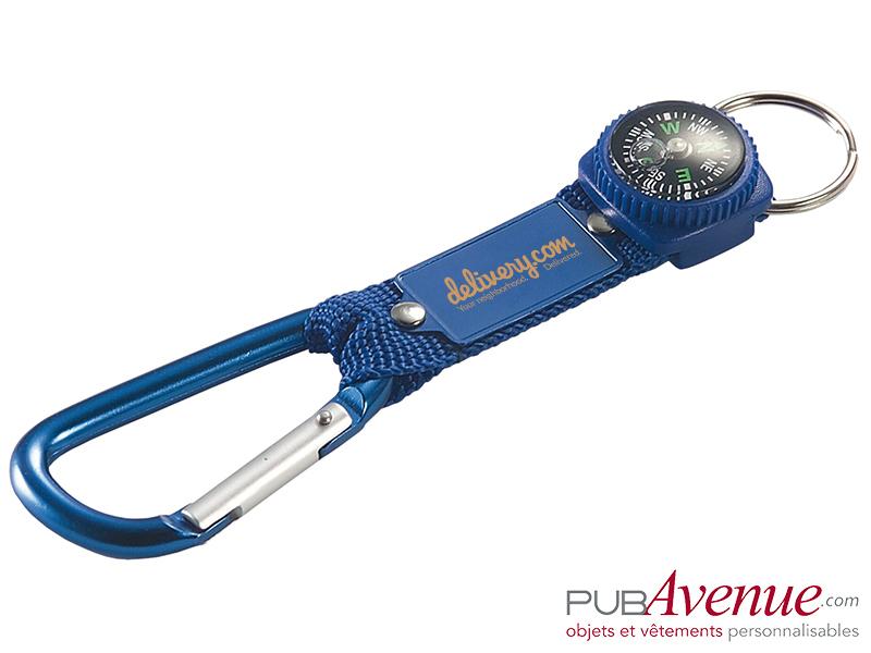 Porte clés mousqueton personnalisé en express