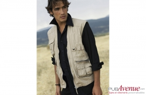 Gilet reporter multipoches Indy Kariban 160 gr/m²