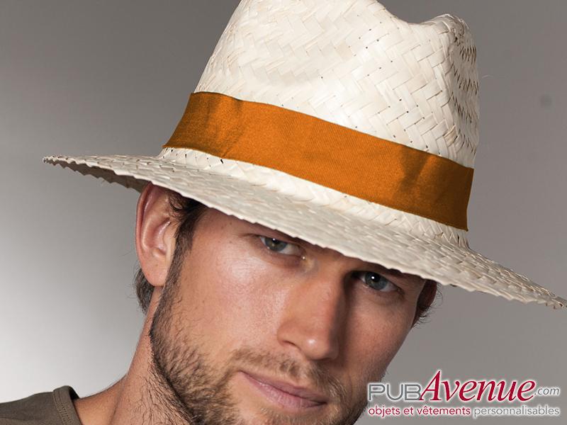 Chapeau panama en express personnalisé