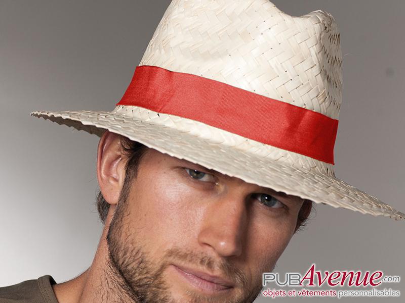 Chapeau panama en express personnalisable