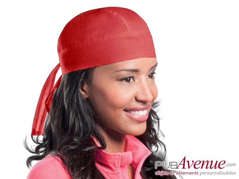 Bandana personnalisable chapeau pirate