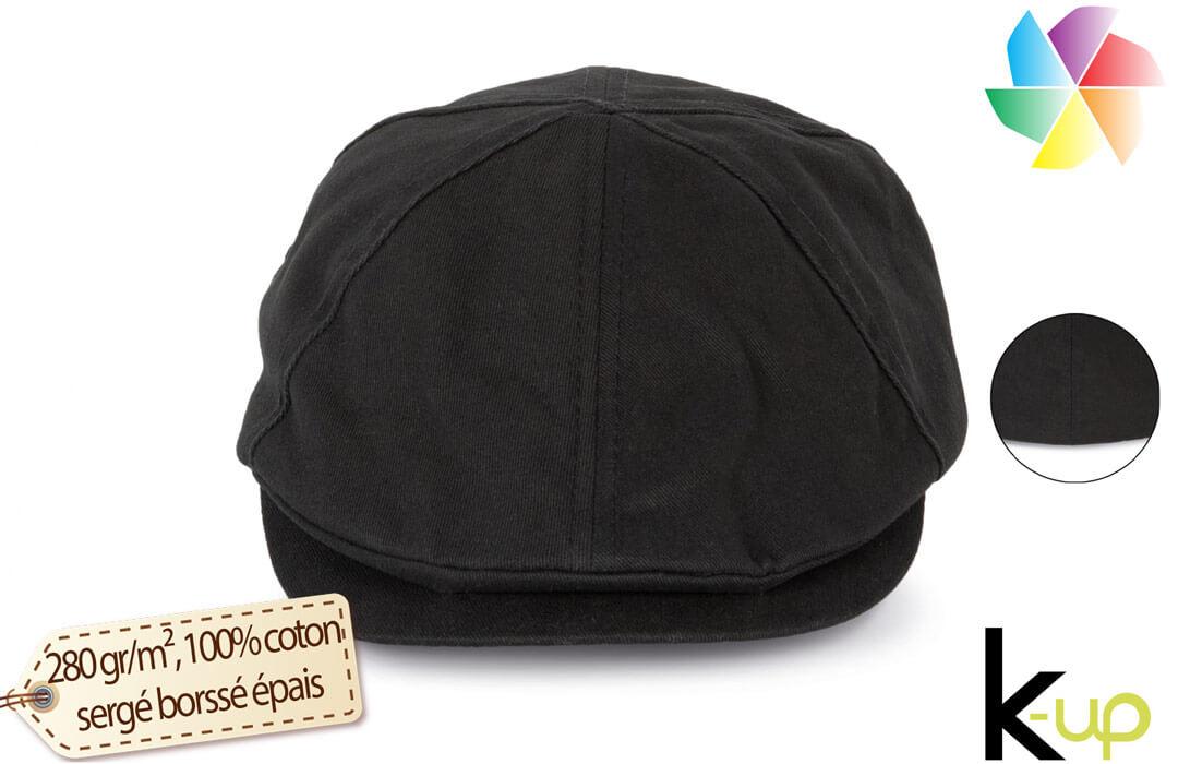 8e84666b6bc43 Béret publicitaire casquette plate personnalisable avec logo pas cher