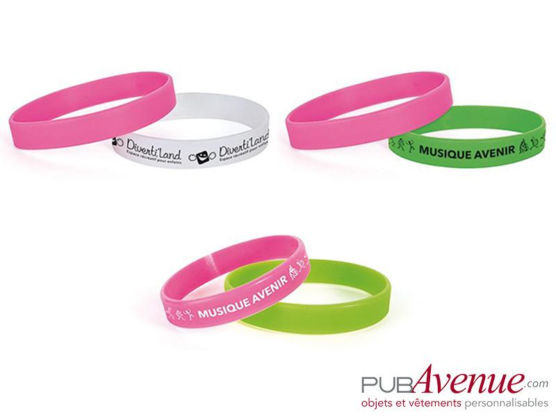 Bracelet silicone en express personnalisé
