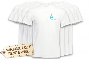 Lot de tee shirt publicitaire