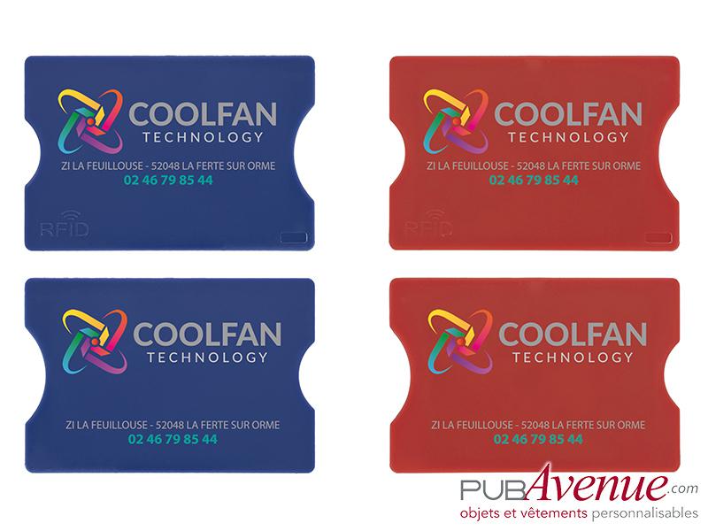 Etui personnalisé en express carte de crédit