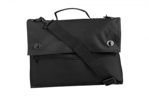 Cartable porte-documents fermeture par boutons