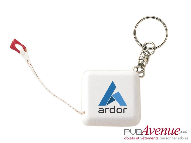 Porte-clés mètre personnalisé en express