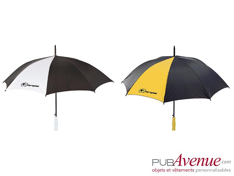 Parapluie publicitaire en express