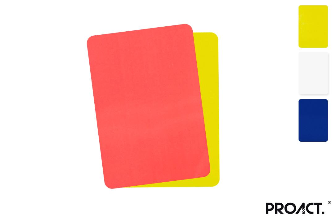 carton de couleur jaune rouge vert pour arbitre pas cher. Black Bedroom Furniture Sets. Home Design Ideas