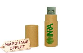 aebf3b60a39d0 ... Clé USB en papier recyclé écologique publicitaire personnalisable pas  cher