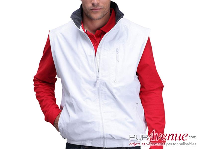 Bodywarmer personnalisable sport veste sans manche