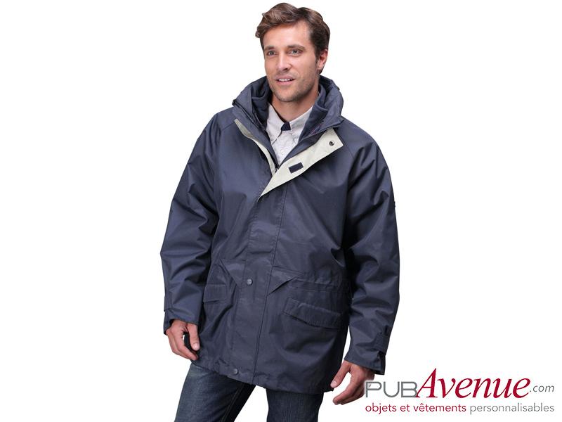 Parka veste polaire détachable personnalisée