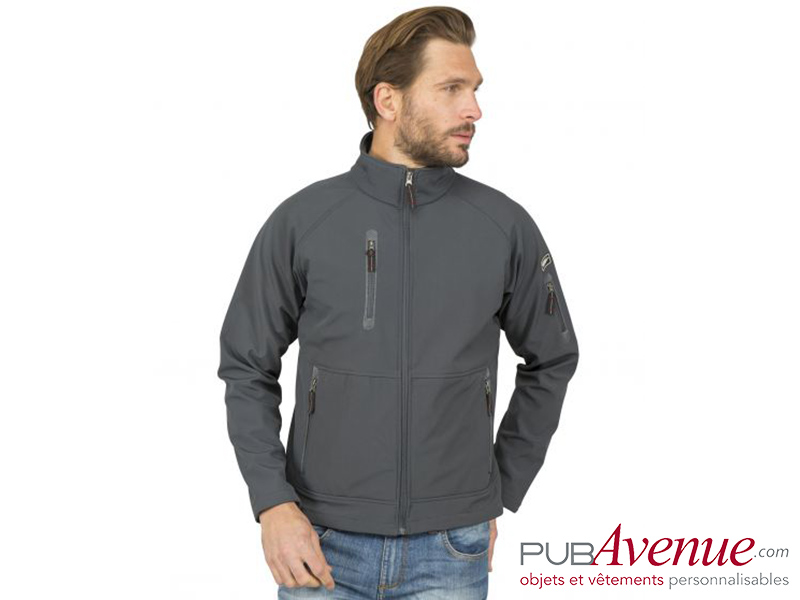 SoftShell homme personnalisable imperméable