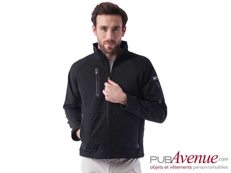 SoftShell homme imperméable personnalisable
