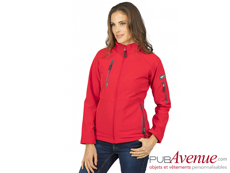 SoftShell femme personnalisable imperméable