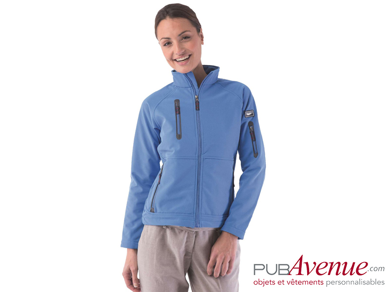SoftShell femme imperméable personnalisable