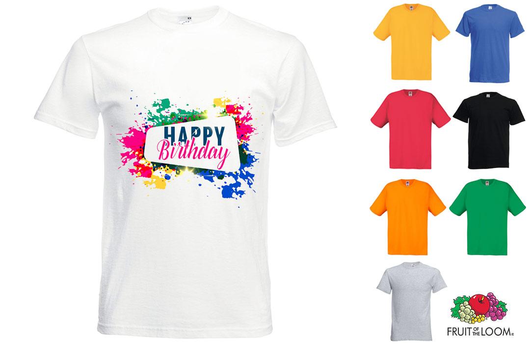 Tee Shirt Personnalise Pour Anniversaire Cadeau Invites Pas Cher