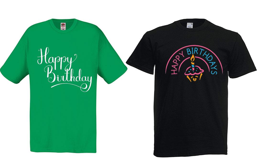 Tee shirt personnalisé pour anniversaire cadeau invités pas cher 1df967d7a0e