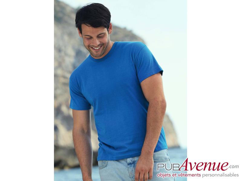 Tee-shirt couleur publicitaire pas cher express