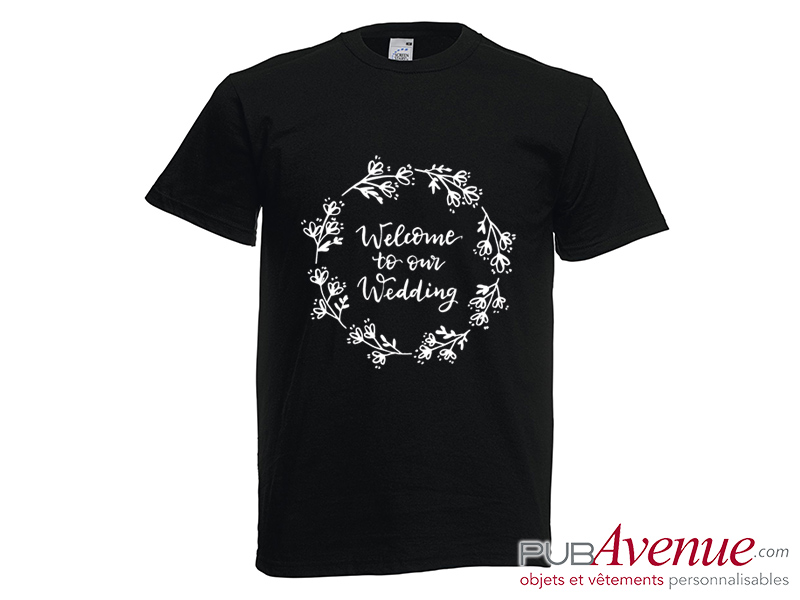 Tee shirt EVJF personnalisé mariage