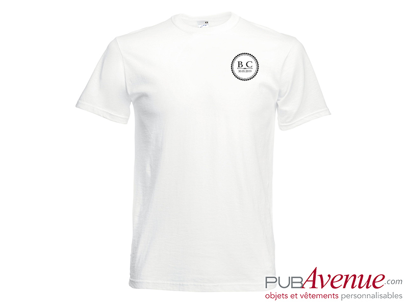 Tee shirt EVJF publicitaire mariage