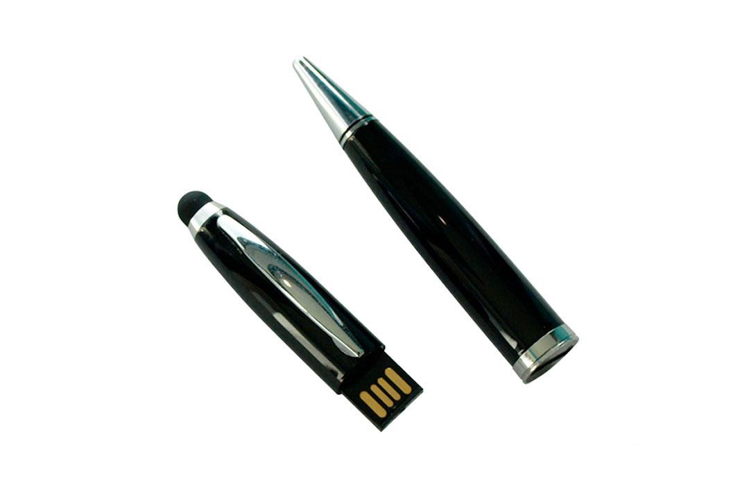 stylo clé usb personnalisé gravure logo texte publicitaire