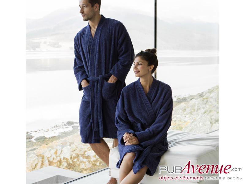Peignoir kimono personnalisé