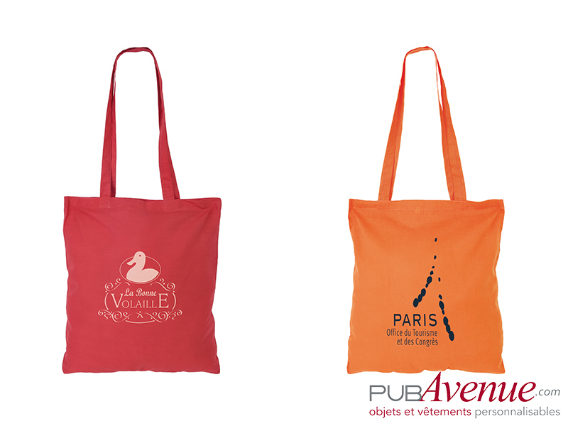 Tote bag coton en express personnalisable