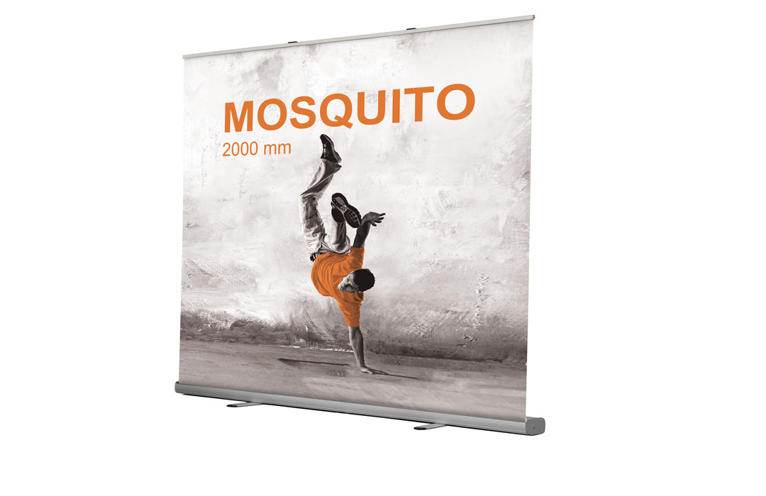 Roll up enrouleur gamme Mosquito 2000 x 2105
