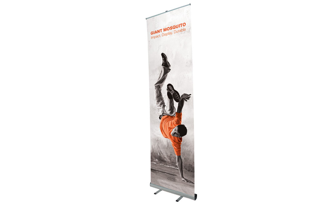 Enrouleur roll up telescopique giant Mosquito 2000 x 3100