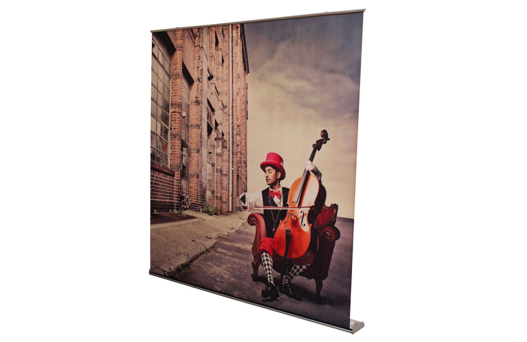 Mur d'image roll up grand format 2200 x 2025