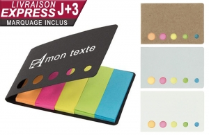 Kit post-it personnalisé logo publicitaire en express